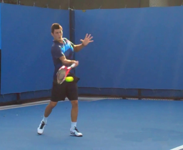 Section 03 Pro Examples Of The Forehand Follow Through Ftp Tennisftp Tennis