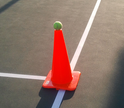 forehand_practice_cone_title
