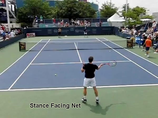 forehand_stances_diagram_open_stance_facing_net